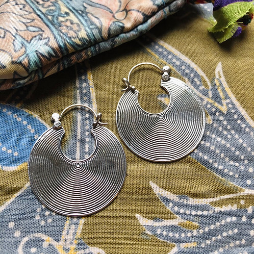 Indian Tribal Hoops ~ Large