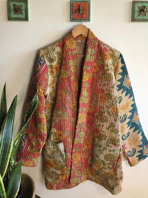 Vintage Kantha Coat  #14 L/XL