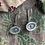 Thumbnail: Indian Silver Andakar Earrings
