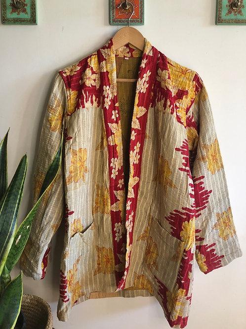 Vintage Kantha Coat  #16 L/XL