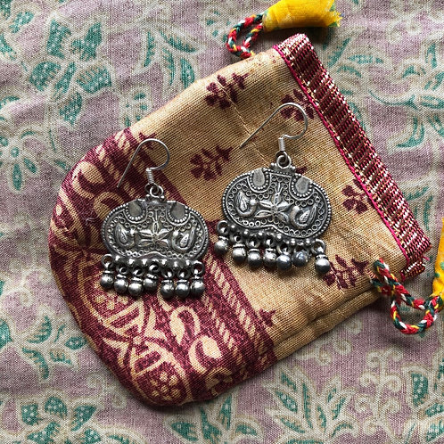 Antique Silver Gypsy Dangles