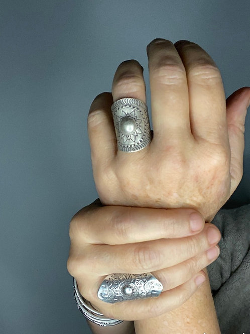 Hilltribe Silver Soleil Ring