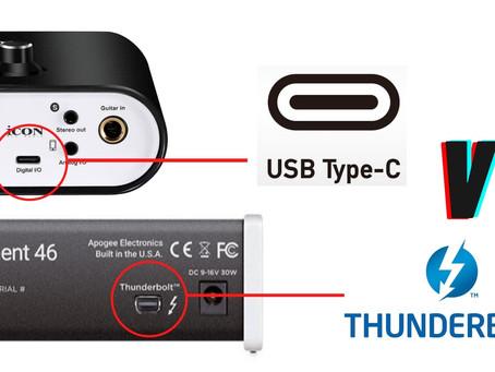 KONEKSI AUDIO INTERFACE PAKAI USB ATAU THUNDERBOLT? MANA YANG LEBIH BAIK?