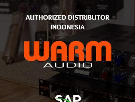 PT. Sinergi Agung Perkasa (SAP) Resmi Menjadi Authorized Distributor untuk WARM AUDIO di Indonesia.