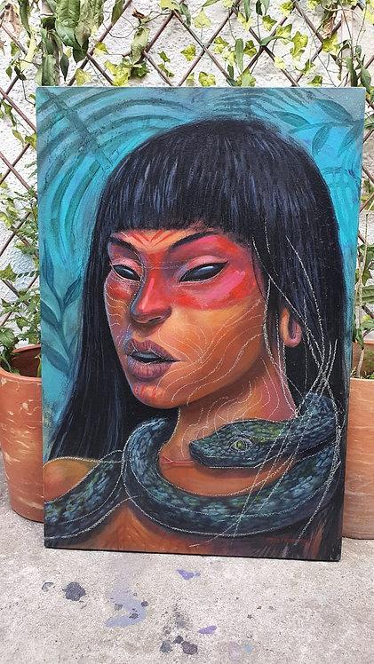 Mujer Huaorani