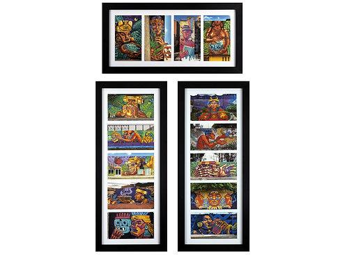 15 Postcards Set (Framed)