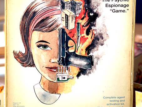 Mind MGMT: The Psychic Espionage Game