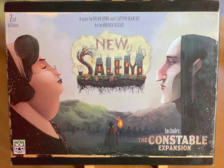 New Salem: The Constable