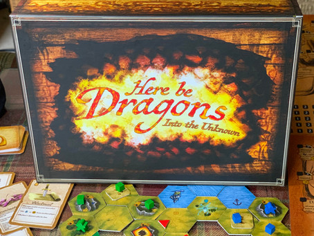Here Be Dragons: Into the Unknown