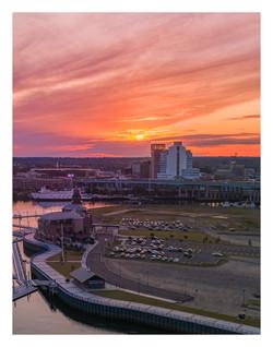 Steelpointe Harbor Sunset
