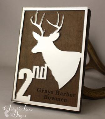 Custom acrylic/wood plaque