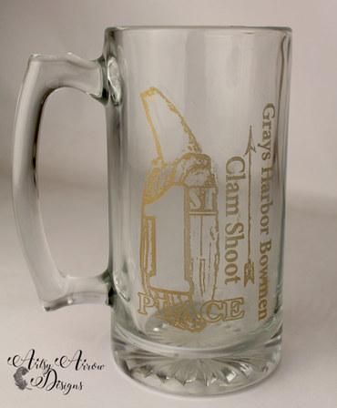 Laser Engraved Beer Stein