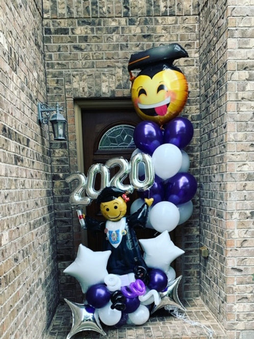 Quick Order - Medium Grad Balloon Arrangement
