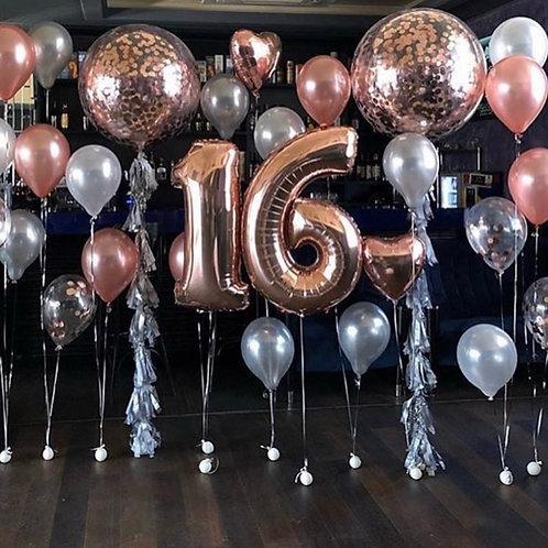 Quick Order -  30pc Balloon Arrangement