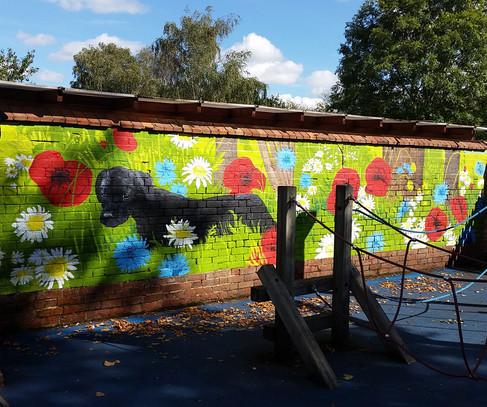 Everton Heath mural