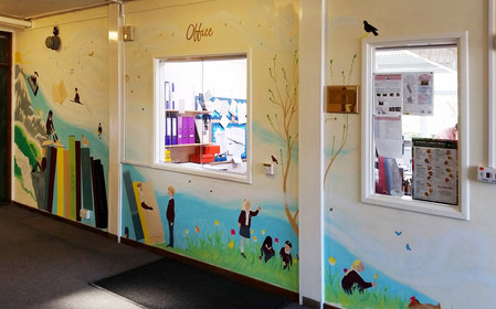 School Reception Mural