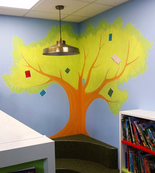 Tree in Library