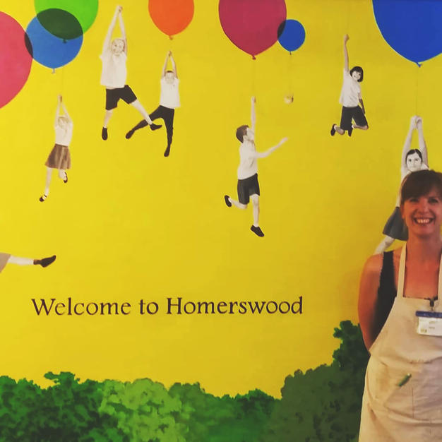 Homerswood mural