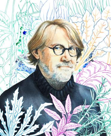 Nigel Slater portrait