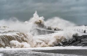 Storm på vestkysten | Nr. Vorupør