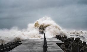 Storm over Vestkysten | Nr. Vorupør