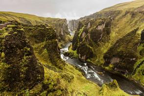 Fjadrargljufur | Island
