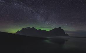 Vestrahorn under mælkevejen | Island