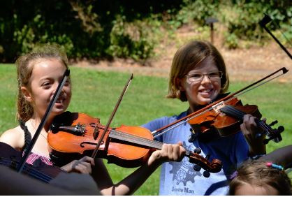 Exploring off the trail with the violin