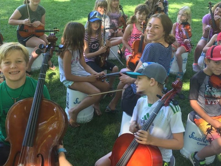 Teaching music groups by ear