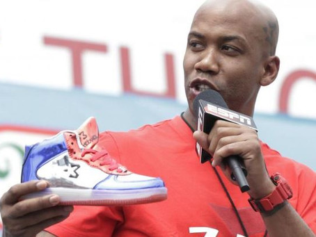 The branding of basketball shoes and  music