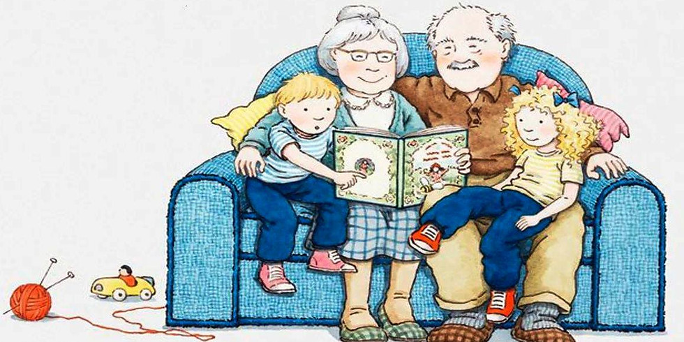 Бабушке-солнышко, дедушке-стих, и получается праздник для них (6+)