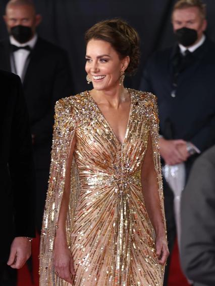 kate middleton: golden bond girl