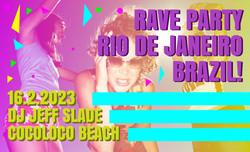 Brazil DJ Poster