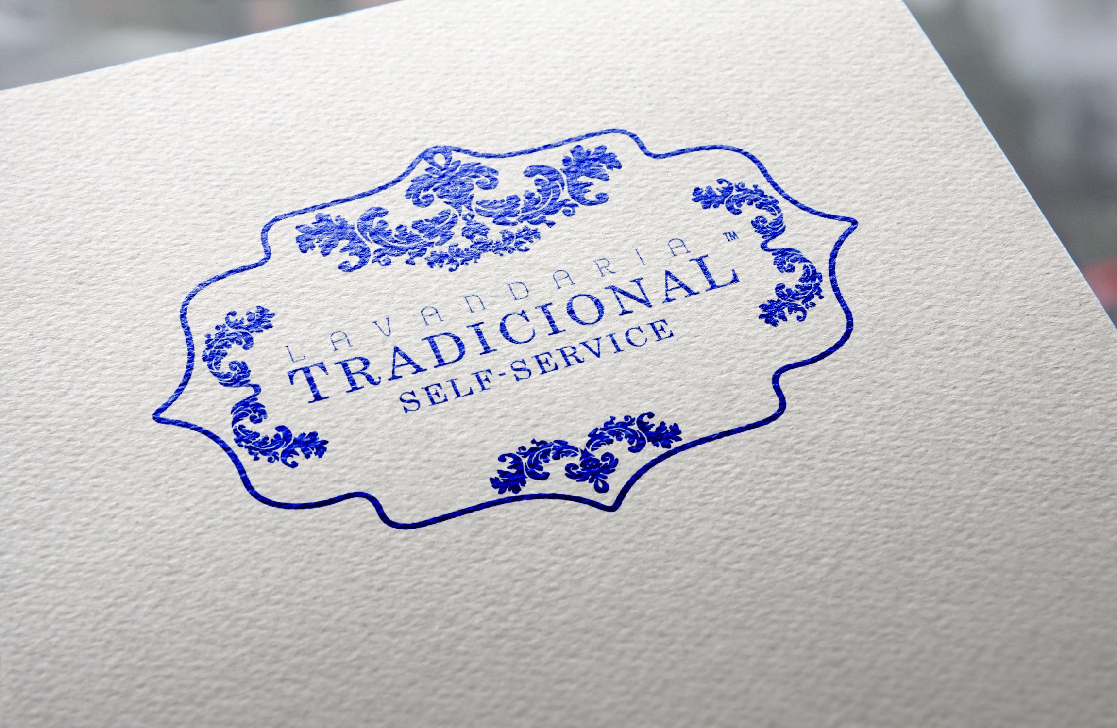 Natural Paper Printed Logo Laundry