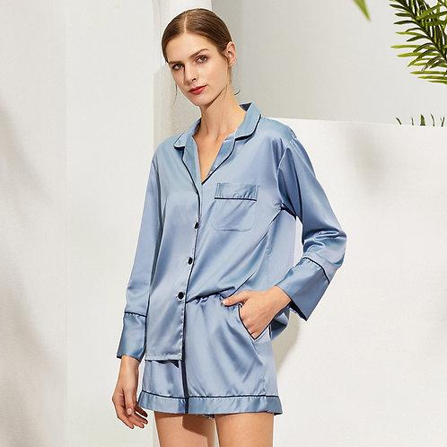 Long Sleeve with shorts Pyjama sets
