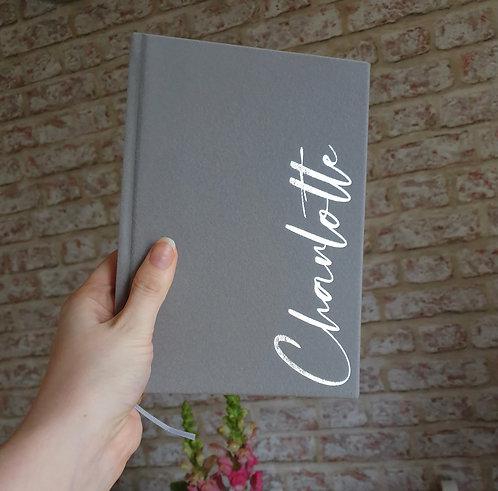 Luxury Velvet Notebook