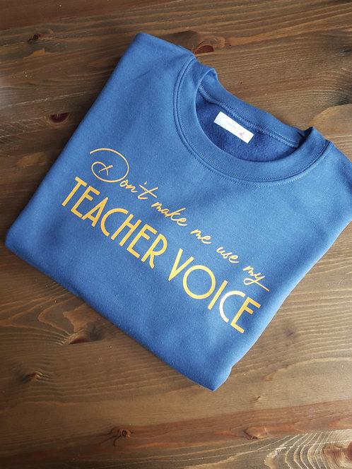 Teacher Voice Jumper