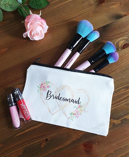 Bridal cosmetic bag