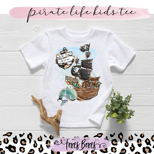 Pirate life Kids Tee