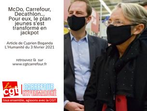 McDo, Carrefour, Decathlon...Pour eux, le plan jeunes s'est transformé en jackpot
