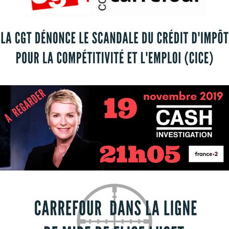 Carrefour dans la ligne de mire de CASH Investigation le mardi 19 novembre à 21h05 sur France 2