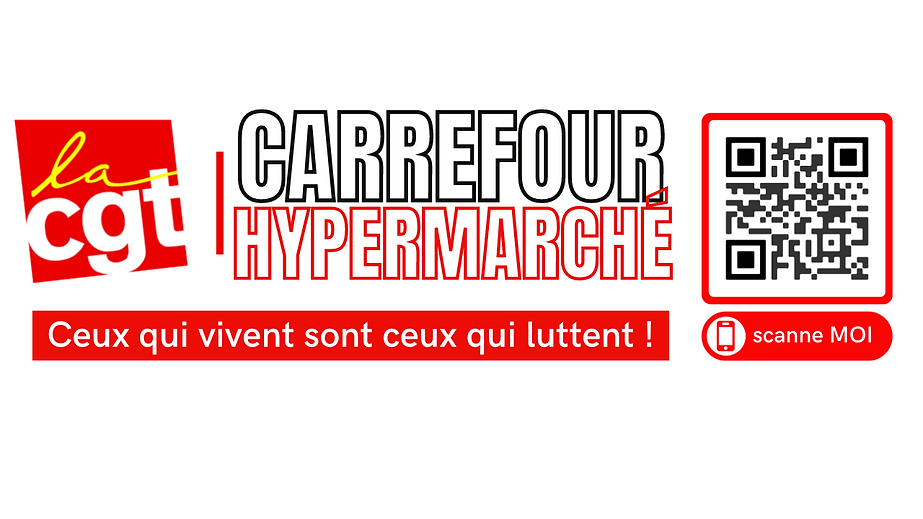LOGO CGT CARREFOUR HYPERMARCHE FLASHCODE