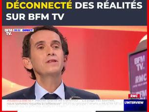 PETITE RECTIFICATION SUR LE MODÈLE SOCIAL CHEZ CARREFOUR, LE PDG DE CARREFOUR ÉTAIT SUR BFMTV