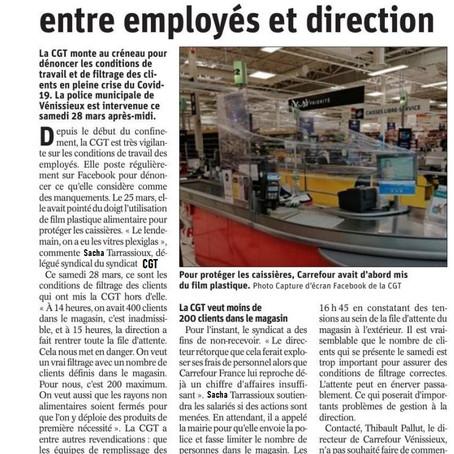 Carrefour Vénissieux : Ambiance tendue entre employés et direction.