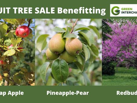 Fruit Tree Sale to Benefit Green Interchange