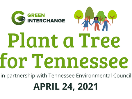 Plant a Tree for Tennessee April 24 - Become an Official Pickup Location!