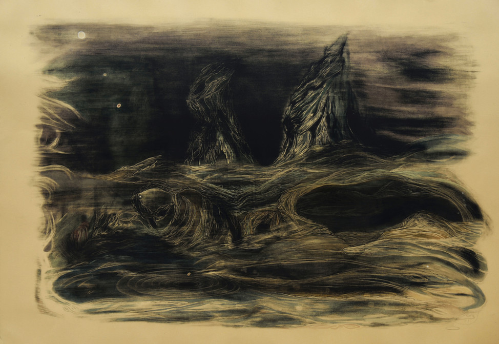 Orbs over Desolation