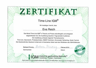 Zertifikat Modul 2