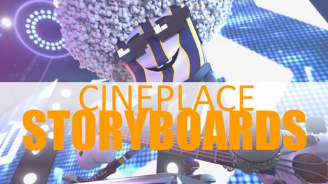 CINEPLACE - Storyboards