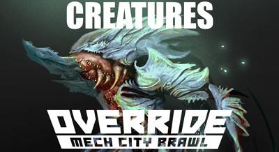 Override Mech City Brawl - Creatures